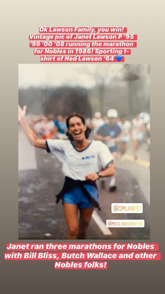 2020 Nobles Virtual Marathon Fund
