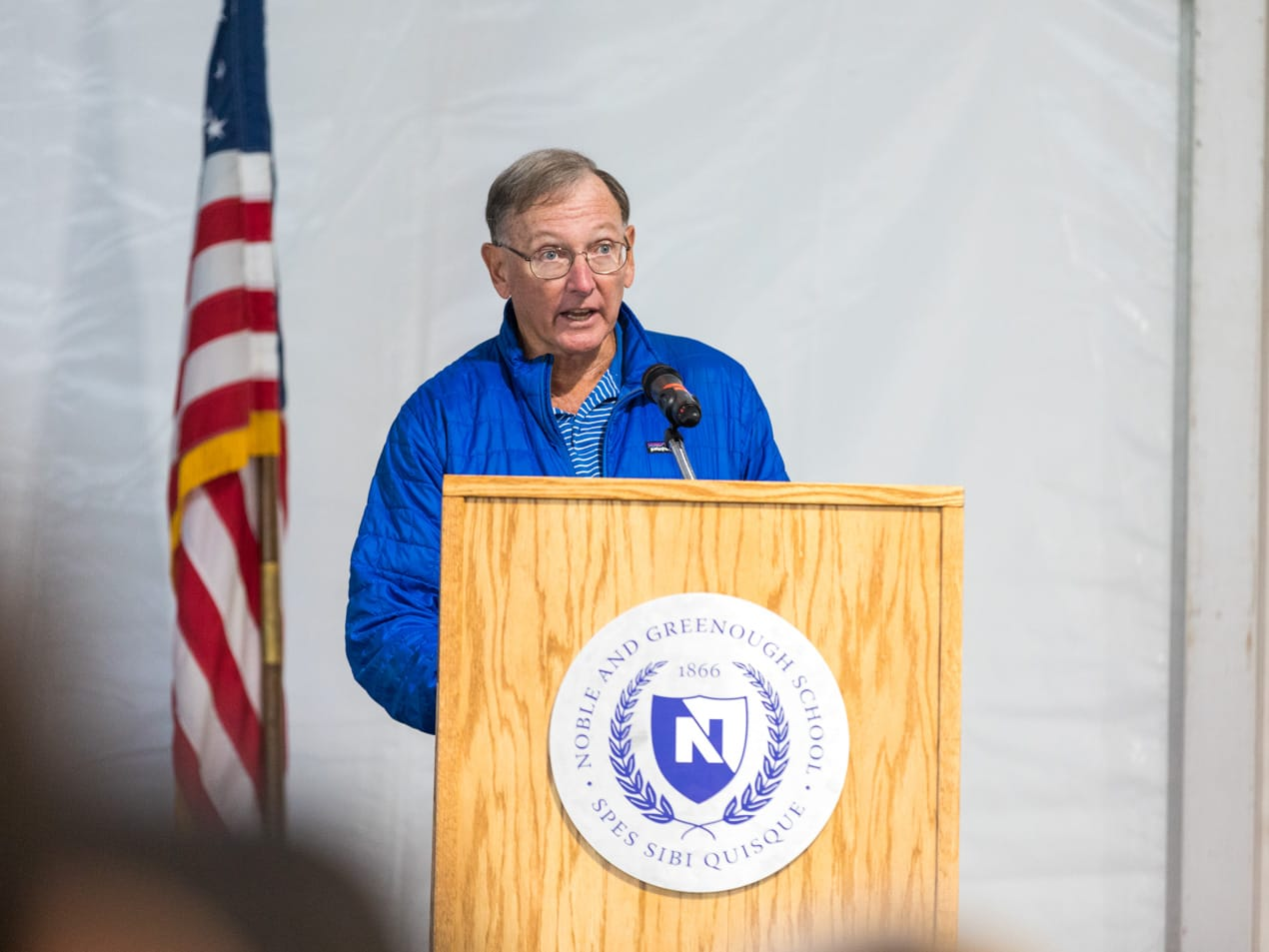 Nick Nickerson speaking