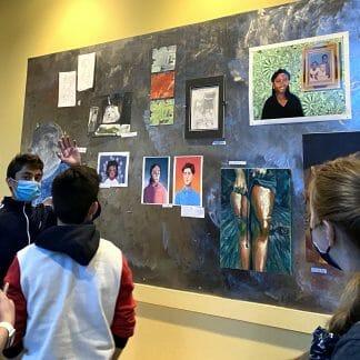 Fall 2020 student art exhibit