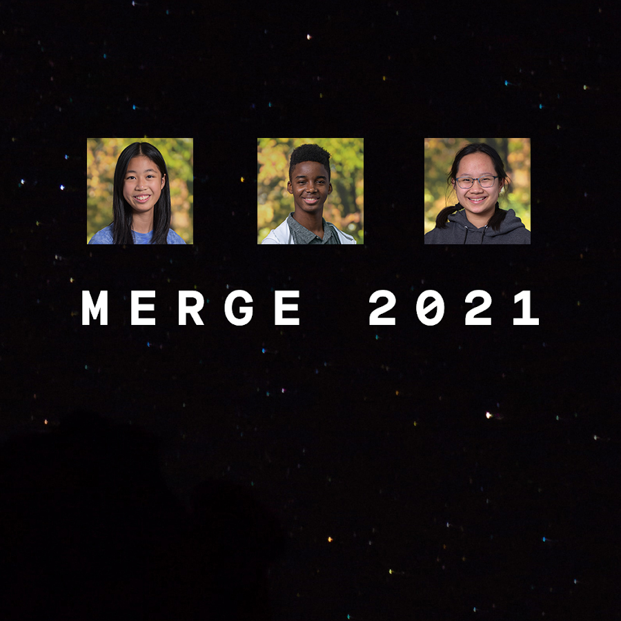 2021 Merge Hackathon student participants from Nobles