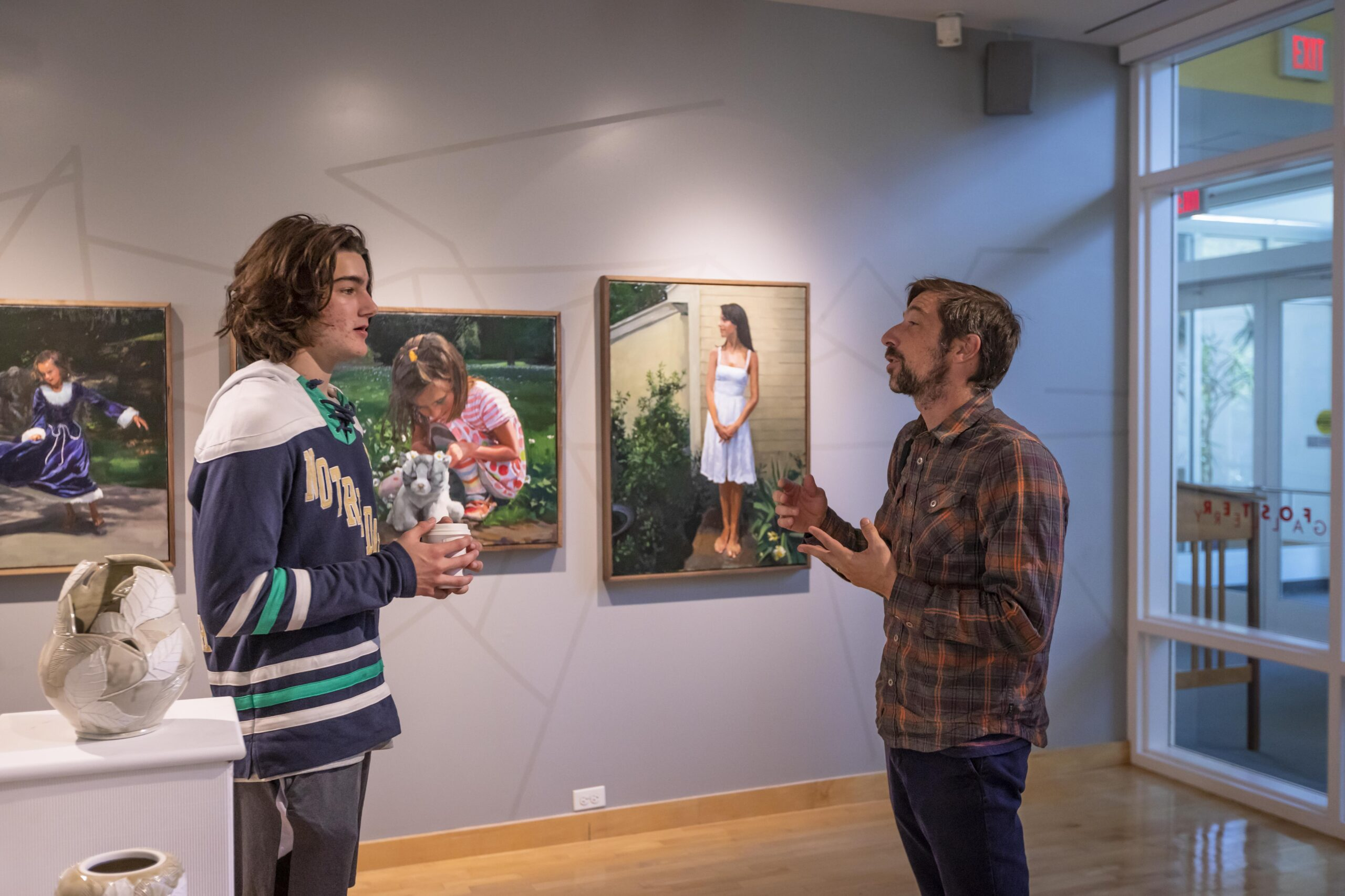 2021 Visual Arts Faculty Show in Foster Gallery
